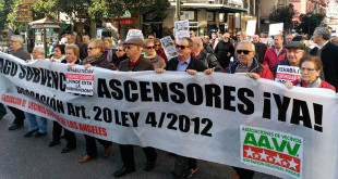 comunidad de madrid ascensor