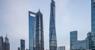 record guinness shanghai tower mitsubishi