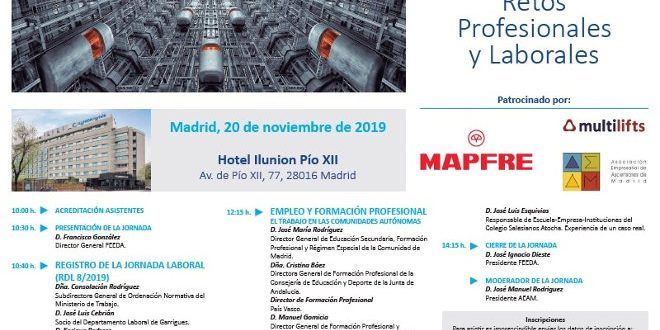 Jornada sectorial Madrid FEEDA